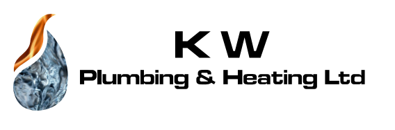 kw plumbing and heating logo