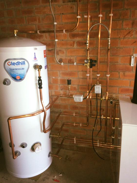 recent gas appliance installed by our engineer from kw plumbing and heating in wrexham